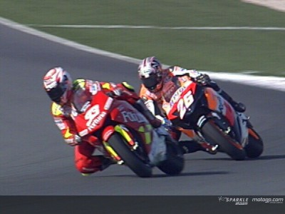 Pistols at dawn: Pedrosa v.s. Melandri