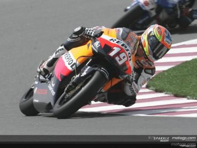Sebas Porto escribe una página de oro en la historia de 250cc