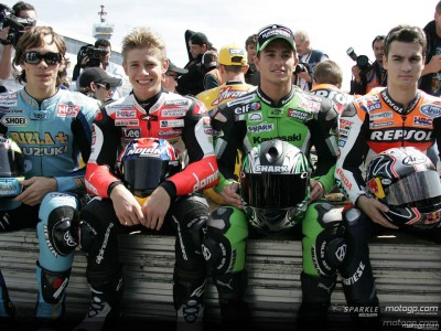 A glance at the MotoGP Rookies