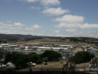 Laguna Seca optimise le trafic pour le GP des USA