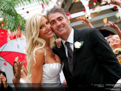 Matrimonio in pompa magna per Mick Doohan
