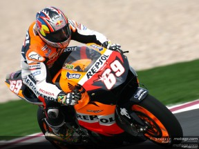 Repsol Honda duo on top spot trail