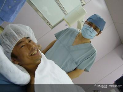 Sekiguchi operado con éxito en Japón