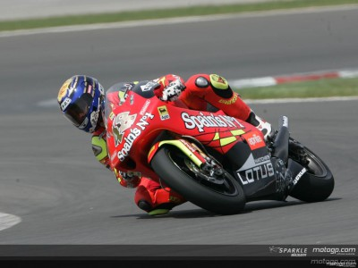 Lorenzo heads 250cc pack by a second