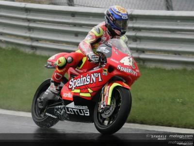 Lorenzo's QP1 time enough for 250cc pole