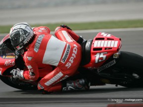 Gibernau, Locatelli and Bautista fastest in warmup
