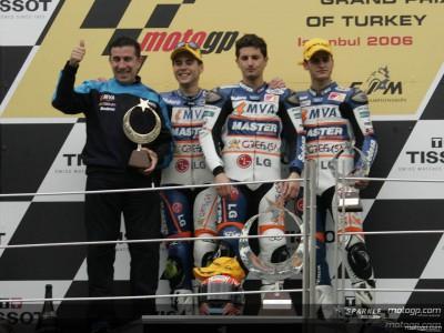 All-Aspar podium in Turkey