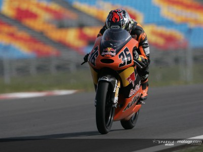 Disappointment for KTM 125cc