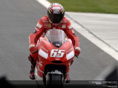 Capirossi joins the 100 club