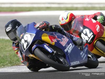 Eccellente debutto della Red Bull MotoGP Academy al CEV