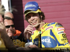 Italian riders dominate MotoGP