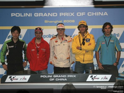 Polini Grand Prix of China: Conferenza Stampa