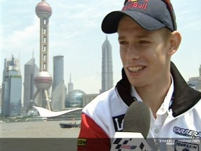 Stoner arrives in China focused on results