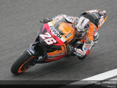 Pedrosa erreicht seine erste MotoGP Pole