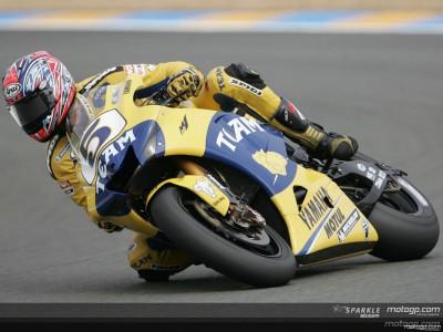 Edwards Top im feuchten Le Mans