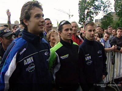 I piloti francesi scaldano l'atmosfera di Le Mans