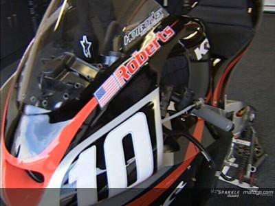 Team Roberts opta por novo chassis