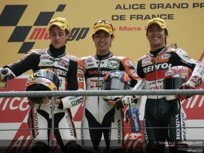 Takahashi takes 250cc victory as Dovizioso suffers heartbreak
