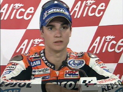 Valiant third place for Pedrosa