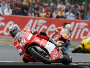 Ducati Marlboro takes its first podium in France