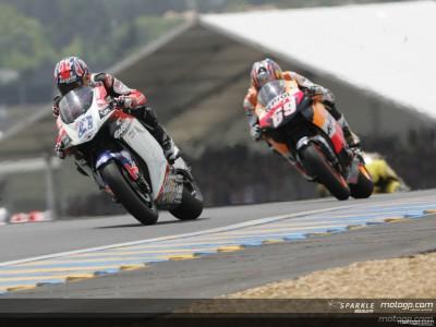 Stoner satisfeito com corrida e teste de Le Mans