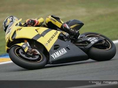 El Yamaha Tech 3 acelera el desarrollo de Dunlop