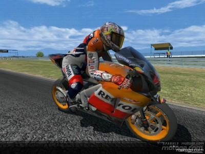 MotoGP'06 chosen as best racing game of the year