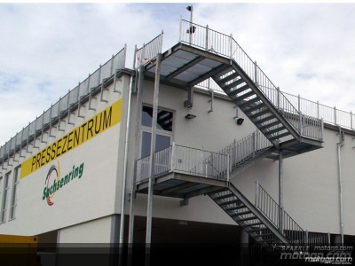 Neues Media Centre am Sachsenring