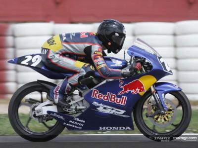Nuovo test per la Red Bull MotoGP Academy