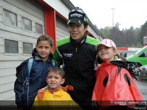 Nakano en piste à Spa Francorchamps