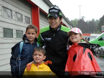 Nakano and Kawasaki bring MotoGP back to Spa