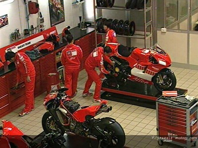 Take a peek inside the Ducati factory