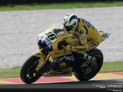 Rossi kommt gut in Mugello
