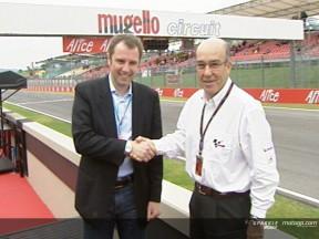 Satisfacción por la continuidad del MotoGP en Mugello