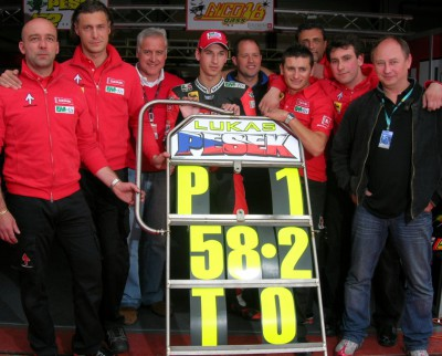 Pesek makes Czech motorcycling history once again