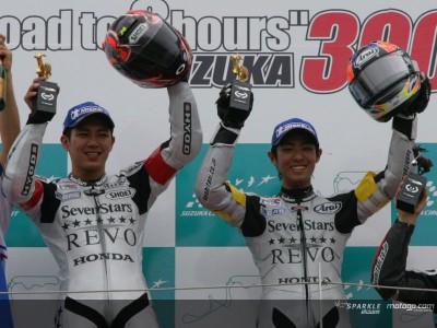 Takahashi und Kiyonari gewinnen das 300 km Rennen von Suzuka