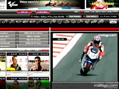 Segui il Gran Premi Cinzano de Catalunya su motogp.com