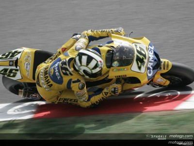 Rossi fastest on day one in Catalunya