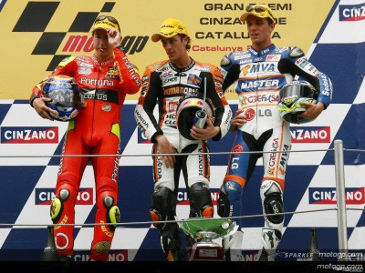 Dovizioso takes maiden 250cc victory in Catalunya spectacular