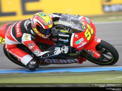 Pesek fastest in 125cc practice