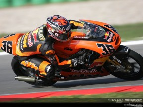 Kallio on pole for 125cc crunch race