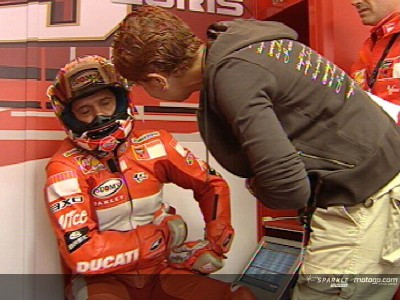 Capirossi and Rossi in doubt for race