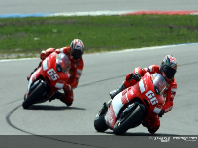 Capirossi to play through the pain