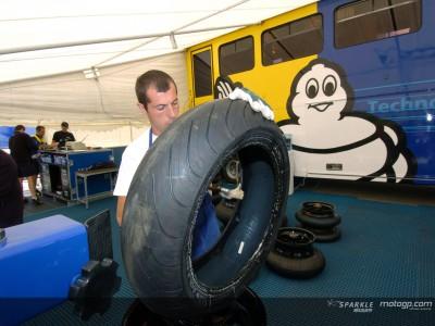 Michelin prêt pour Donington