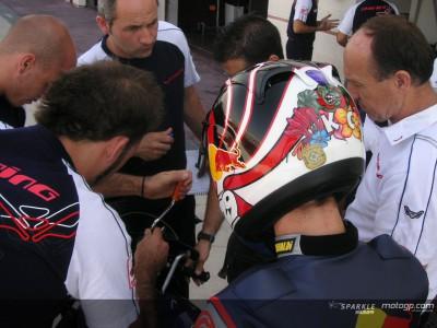 La Red Bull MotoGP Academy si allena ad Albacete