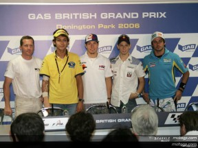Gas British Grand Prix: Conferenza Stampa