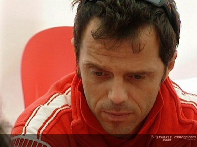 Capirossi sits out practice session