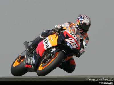 Pedrosa se ratifica con la pole position