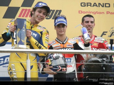 Pedrosa takes second premier class victory at Donington Park