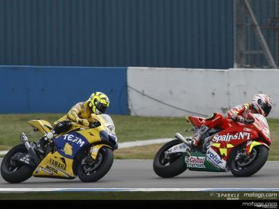 Rossi completa otra remontada épica